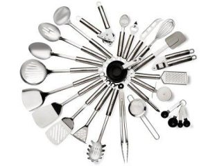 29 Piece Stainless Steel Kitchen Utensils Set