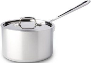 All-Clad 4204 Stainless Steel Tri-Ply Dishwasher Safe Cookware