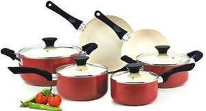Cook N Home NC-00359 Nonstick Ceramic Coating Cookware Set
