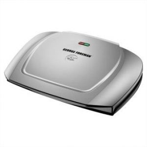 George Foreman GR2144P Basic Plate Electric Grill and Panini Press