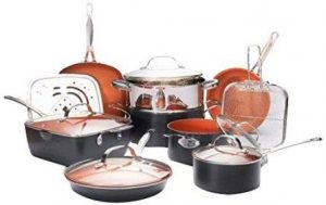 Gotham Steel Ultimate 15 Piece All in One Chef's Kitchen Set