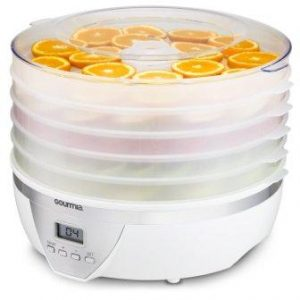 Gourmia GFD1550 Food Dehydrator With Digital Temperature Settings