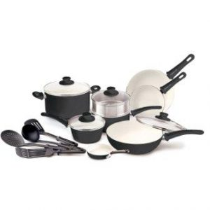 GreenLife Soft Grip Ceramic Cookware Set