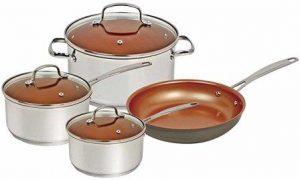 Nuwave Duralon Ceramic Nonstick Cookware Set