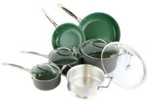 Orgreenic Ceramic Coated Non-Stick Cookware Set