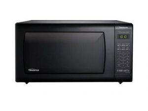 Panasonic NN-SN736B Black 1.6 Cu. Ft. Countertop Microwave Oven