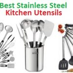 Top 15 Best Stainless Steel Kitchen Utensils in 2018