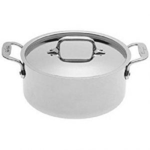 All-Clad 4303 Stainless Steel Tri-Ply Bonded Dishwasher Safe Casserole
