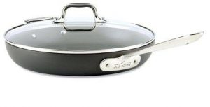 All-Clad E7859664 HA1 Hard Anodized Nonstick Fry Pan