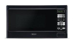 Bella BMO07ABTBKB 700W Compact Digital Microwave Oven