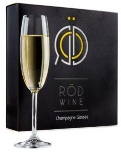 Champagne Glasses Set – Lead Free Titanium Crystal Sparkling Wine Glass,