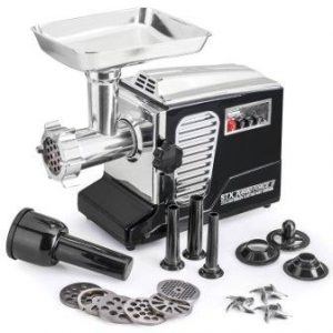 Electric Meat Grinder – Size #12 – Model STX-4000-TB2-PD