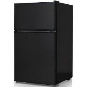 Keystone KSTRC312CB Compact 2-Door Refrigerator/Freezer, 3.1 Cubic Feet