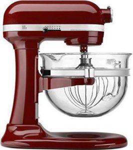 KitchenAid KF26M2XGC 6-Qt. Professional 600 with Glass Bow