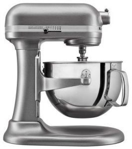KitchenAid KL26M1XSL Professional 6-Qt. Bowl-Lift Stand Mixer – Silver