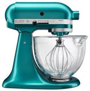KitchenAid KSM155GBSA 5-Qt. Artisan Design Series with Glass Bowl