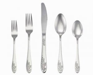 LIANYU 20-Piece Silverware Set, Stainless Steel Flatware Cutlery Set