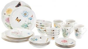 Lenox 28 Piece Butterfly Meadow Classic Dinnerware Set