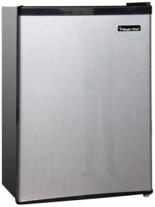 Magic Chef MCBR240S1 Refrigerator, 2.4 Cubic Feet