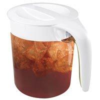 Mr. Coffee TM39P 3 Quart Iced Tea Maker with Pitcher WhiteBlue