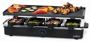 Salton PG1645 8 Person Raclette