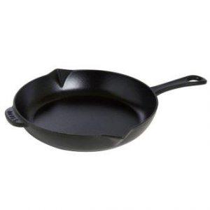 Staub1222625 Black Matte Fry Pan
