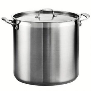 Tramontina 80120/003DS Tramontina Gourmet Stainless Steel Covered Stock Pot