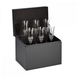 Waterford Lismore Essence Flute Deluxe Gift Box Set of 6