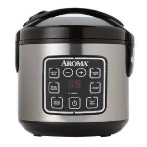 Aroma Housewares ARC-914SBD Digital Cool-Touch Rice Cooker and Food Steamer