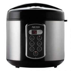 Aroma Housewares Professional Digital Rice Cooker and Food Steamer