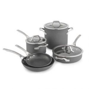 Calphalon Signature Hard Anodized Nonstick Cookware Set