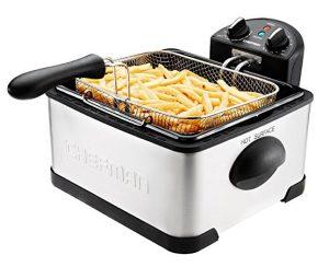 Chefman Deep Fryer with Basket Strainer RJ07-4DSS-T-CL