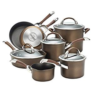 Circulon Symmetry Chocolate Nonstick Cookware Set