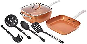 Copper chef 6-piece cookware set