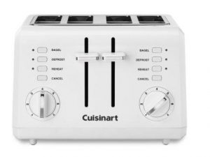 "Cuisinart Compact 4-Slice Toaster with 1½"" Wide Toasting Slots"