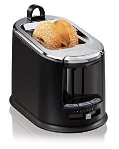 Hamilton Beach SmartToast Extra-Wide Slot 2 Slice Toaster