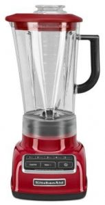 KitchenAid KSB1575ER 5-Speed Diamond Blender with 60-Ounce BPA-Free Pitcher