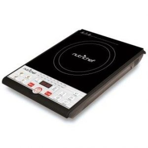 NutriChef Portable 120V Electric Induction Cooker Cooktop