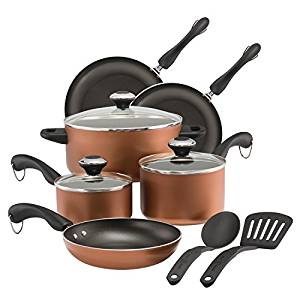 Paula Deen dishwasher safe nonstick cookware set