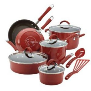 Rachael Ray Porcelain Enamel Nonstick Cookware Set