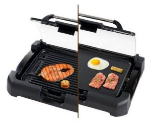 Secura 1700W Electric Reversible 2 in 1 Grill Griddle
