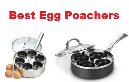 RSVP International Endurance Stainless Steel Poacher,Black /& Silver,1-Egg POACH-1