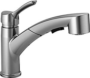 Delta 4140-AR-DST Collins Single-Handle Pull-Out Kitchen Faucet
