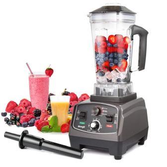 MengK 1400W Blender, Professional Industrial Kitchen Juicer Blender