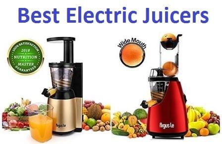 Top 15 Best Electric Juicers in 2018