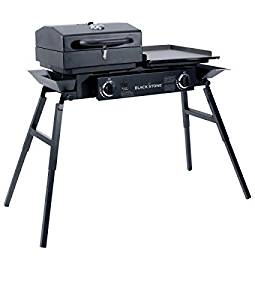 Blackstone Grills Tailgater – Portable Gas Grill and Griddle Combo – Barbecue Box