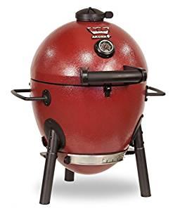 Char-Griller E06614 Akorn Jr. Kamado Kooker Charcoal Grill - Red