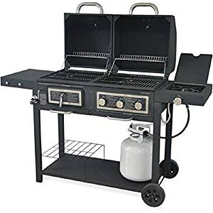 Durable Outdoor Barbeque & Burger Gas/charcoal Grill
