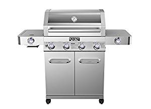 Monument 4-Burner Propane Gas Grill
