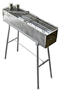 """Party Griller 32"""" Stainless Steel Charcoal Grill"""